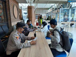 Antisipasi Arus Mudik Lebaran, Pos Penyekatan Bandara Lombok Lakukan Pemeriksaan Ketat