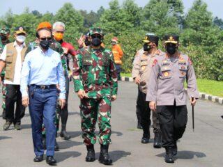 Di Pekalongan, Panglima TNI-Kapolri Minta Perkuat PPKM Mikro dan Tingkatkan 5M serta 3T