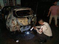 Mobil Honda Brio Terbakar, Alami Kerugian Ratusan Juta