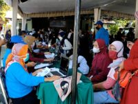 Tim Gabungan Satgas Covid-19 Di Kab. Loteng Terus Gencarkan Serbuan Vaksinasi