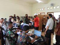 Serbuan Vaksinasi Kodim 1606/Mataram Berlanjut, Kali Ini di SMK Negeri 1 Mataram