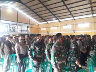 Jelang Pilkada TNI - Polri Hadir Rakor  Dan Pembekalan PAM TPS