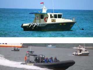 Wisata Gili Sekotong Diperketat jelang lebaran Topat,  Polsek Sekotong Patroli Laut