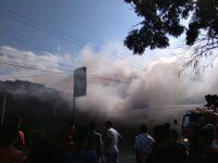 Sebuah Toko di Lombok Tengah Terbakar