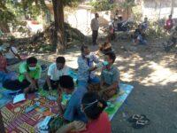 Polsek Praya Timur Tracing Contact Keluarga Pasien Meninggal Covid-19